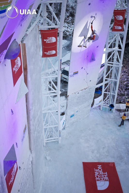 The first stage of the Ice Climbing World Cup 2013 which took place at Cheongsong (South Korea) on 12 - 13/01/2013., UIAA