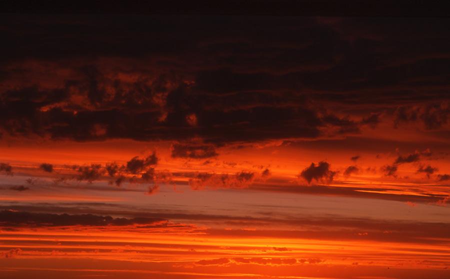 Sunset, Penisola Valdez, Nicholas Hobley