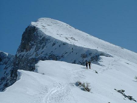 Alpago ski mountaineering, Alberto Boscolo, Gianluca Bellin