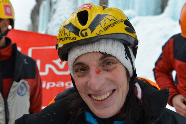 The X-Ice Meeting 2013 which took place on 20/01/2013 at Ceresole Reale: Anna Torretta, Mounatin Passion