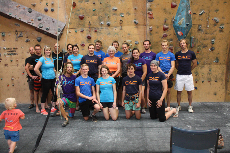 Climbers against Cancer: Cranberrra, Australia: Ib Ross, Boris Kivshar, Rod Horan, Andrew McCahon, Peta Horan, Steven Moore, Brendan Maggs, Joe Horan, Matt Cools, Amie Kivshar, Joanne Horan, Emma Horan, Chris Brain, Nick Churchill, Anton Weller, Kale McCauley, Zac Fisher, Belinda Struik, Steven Waring, Caitlin Horan., Climbers against Cancer