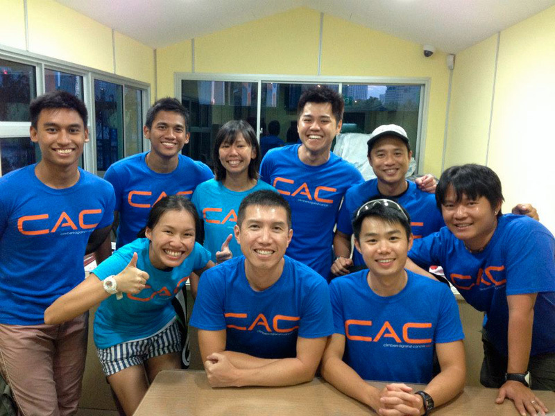 Climbers against Cancer: Singapore, Climbers against Cancer