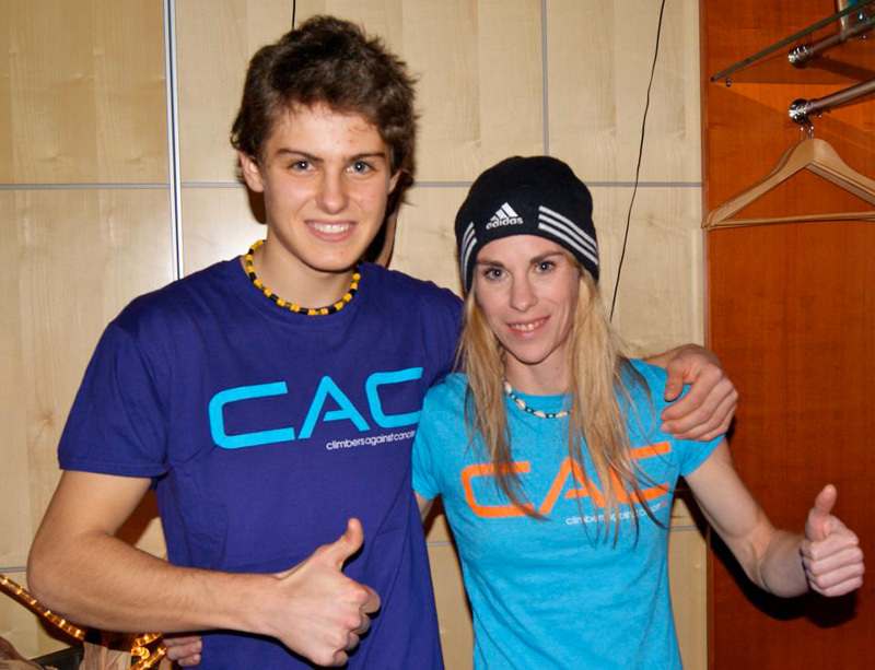 Domen Skofic & Maja Vidmar, Climbers against Cancer