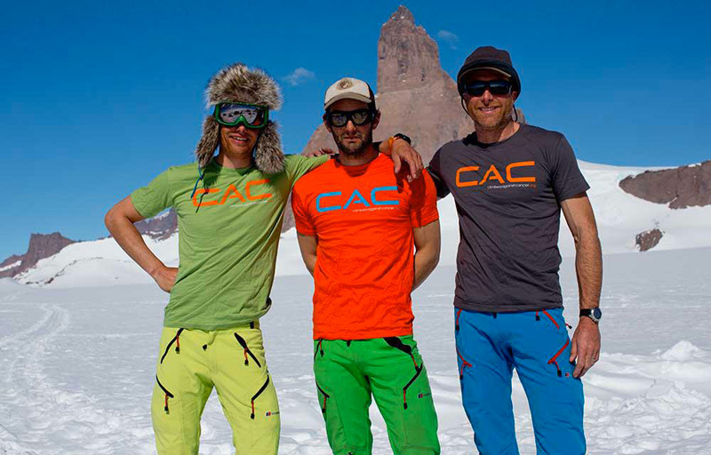 Leo Houlding, Jason Pickles & Sean Leary, Climbers against Cancer