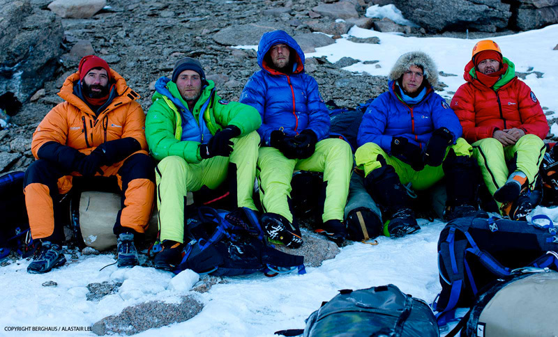 From left to right: Alastair Lee, Sean Leary, Chris Rabone, Leo Houlding, Jason Pickles, Berghaus / Alastair Lee