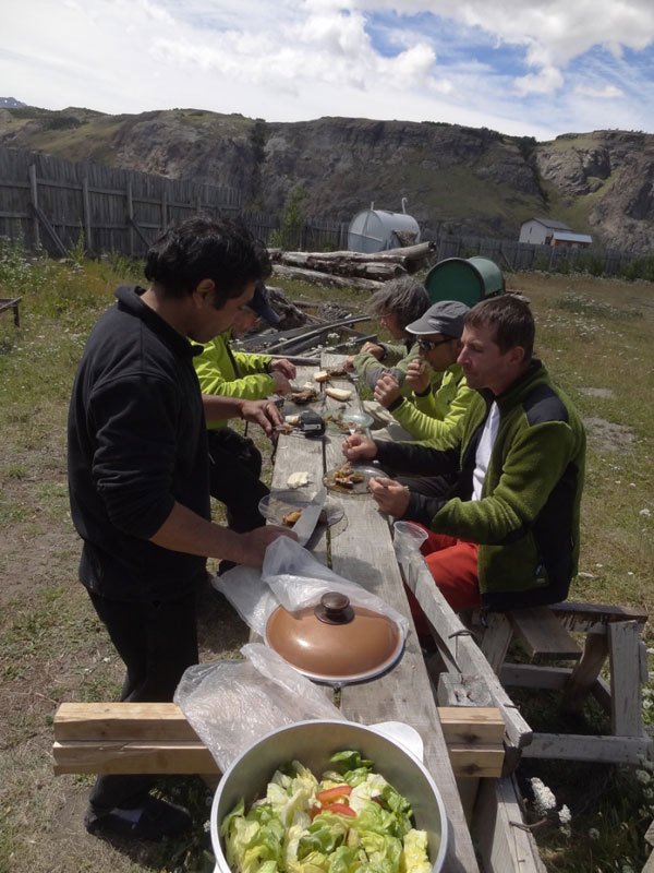 Aguja Guillaumet, Patagonia, Boscarin /Calloni / Da Canal / Dell'Agnola / Sanguineti