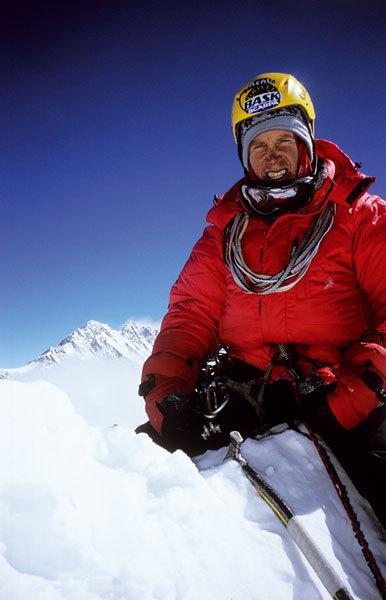 Valery Babanov in cima allo Jannu, arch. Premio Saint Vincent