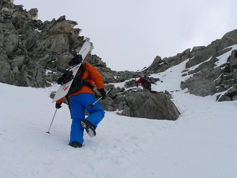 La salita in cresta, Rudy Buccella