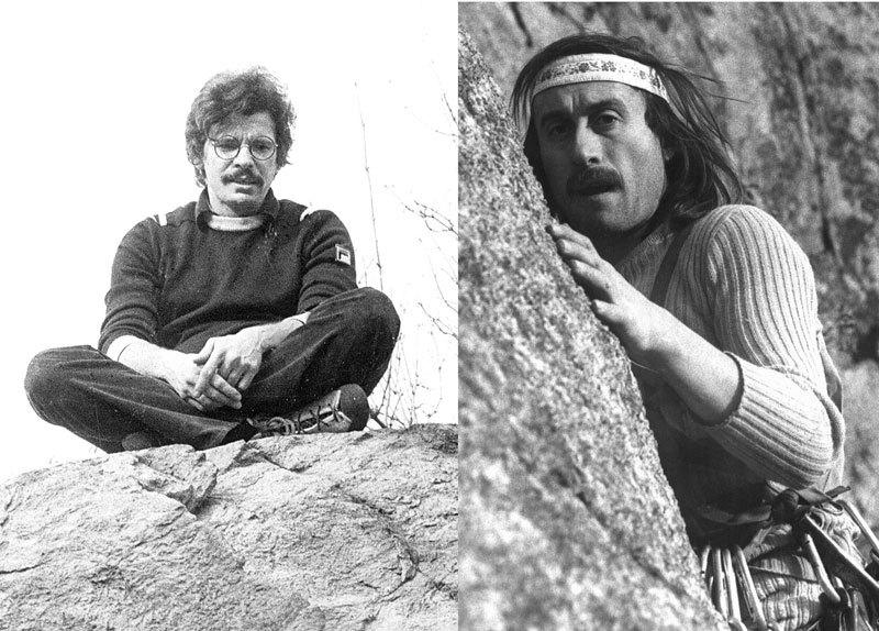 Da sinistra: Gian Piero Motti e Gian Carlo Grassi, V. Pasquali