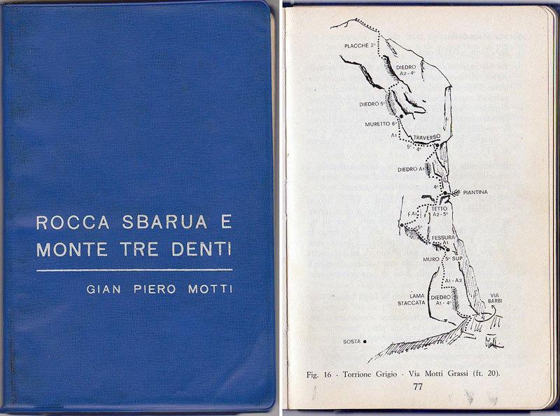 La mitica guida della Rocca Sbarua redatta da Gian Piero Motti, Paolo Seimandi