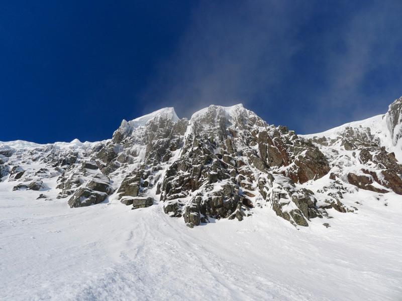Coire an Lochain, Aonach Mòr, Lochaber: avvicinamento al  Coire an Lochain, Filippone - Rossi - Sanguineti - Türk