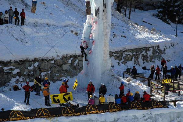 La prima edizione della Festa del Ghiaccio di Cogne (Valle d'Aosta), arch. Roche et Glace
