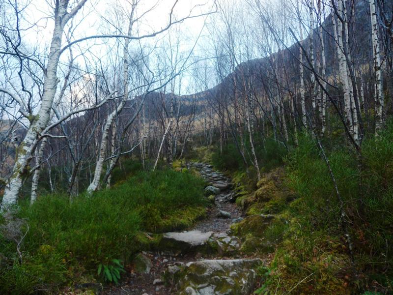 Glen Coe, Coire Gabhail: avvicinamento alla Lost Valley, Sanguineti - Türk