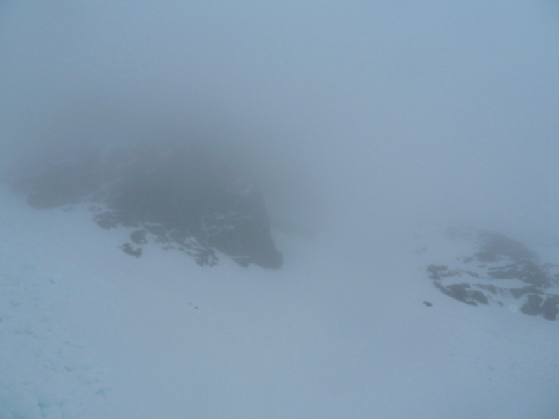 Glen Coe, Coire Gabhail: ''True conditions'', alla base del Lost Vally Buttress, Sanguineti - Türk