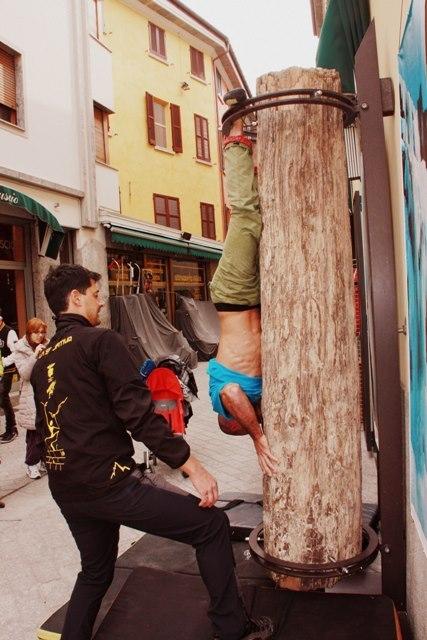 , arch. Sondrio Street Climbing 2013