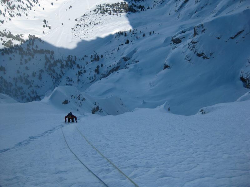 Ravanata sul pendio nevoso centrale, archivio Angelo & Tonelli