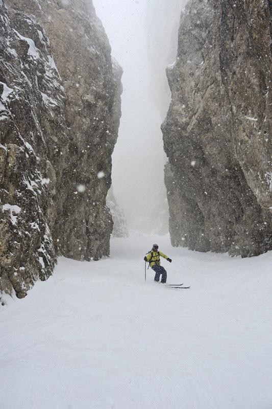 In Dolomiti durante il primo corso aspiranti guida alpina 2013 - 2014 del Polo Interregionale., Enrico Turnaturi