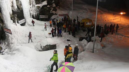 Area di scalata di Castello a inizio serata..., ClimbingTribe.com