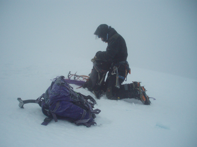 True conditions on the summit of Ben Nevis, Filippone - Rossi