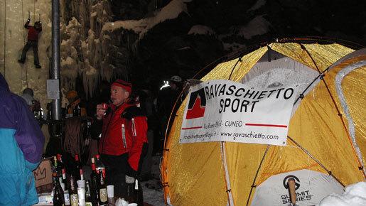 Oltre il ghiaccio... birra e vino per tutti., arch. Svevo Mondino