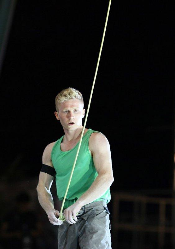 Il climber norvegese Magnus Midtbø, Giulio Malfer
