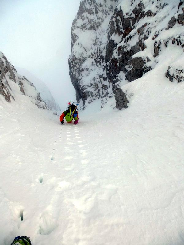 Descending Pecorelle Alte, Marco Milanesi