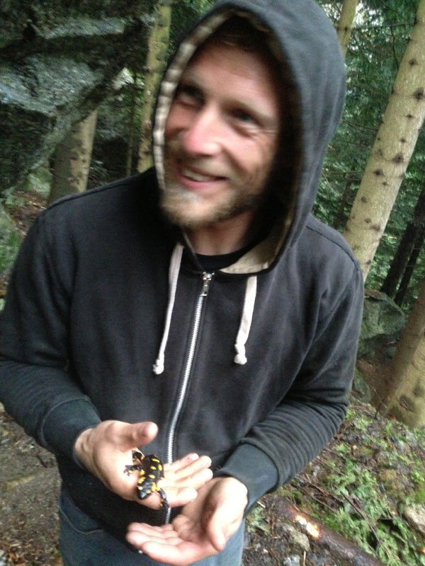 La salamandra del Melloblocco n° 10, Matteo Spini