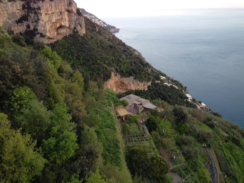 La Selva... incastonata tra mare e roccia, archivio Roberto Vigiani