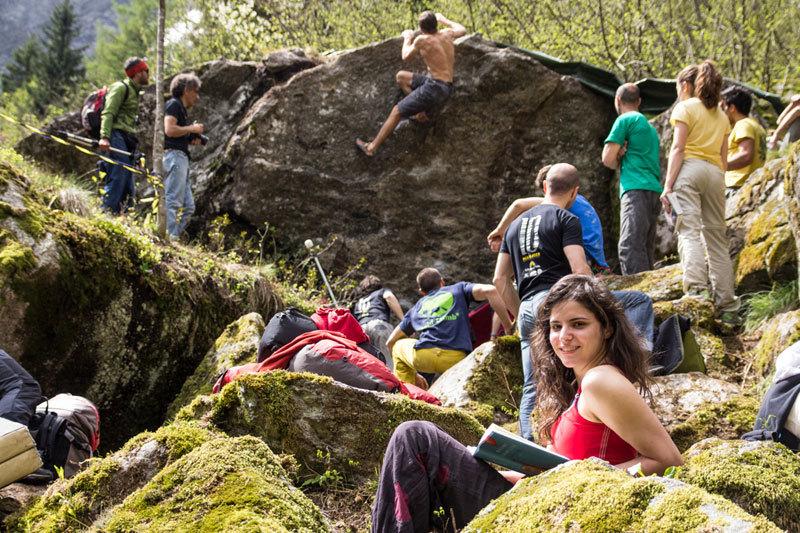 Mello climbers, Gianluca Bosetti