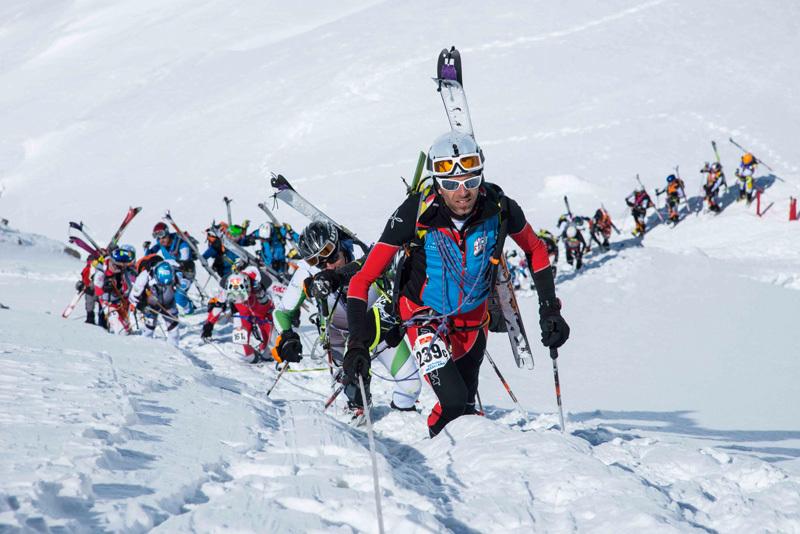 Ascent to Naso del Lyskamm, Marco Spataro