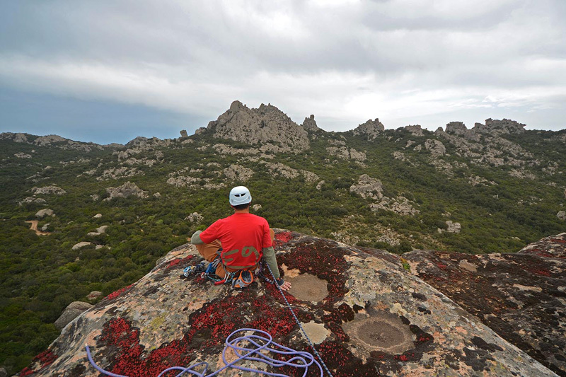 May 2013 - On the summit, looking to Punta Sa Ceraxa., Fabio Erriu