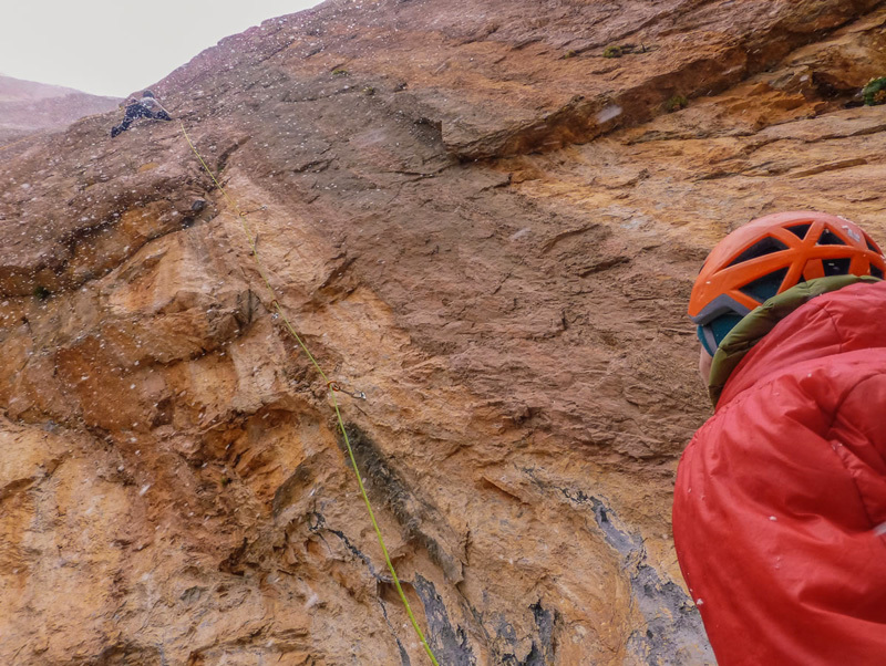 April 2013: Making the first ascent during Morocco's spring, Franz Walter