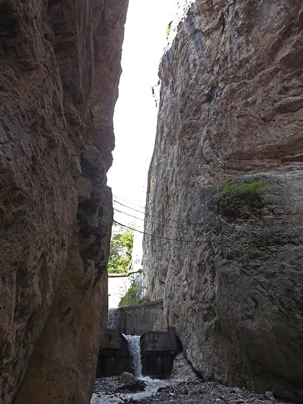Orrido di Chianocco e il ponte Tibetano, archivio Elio Bonfanti
