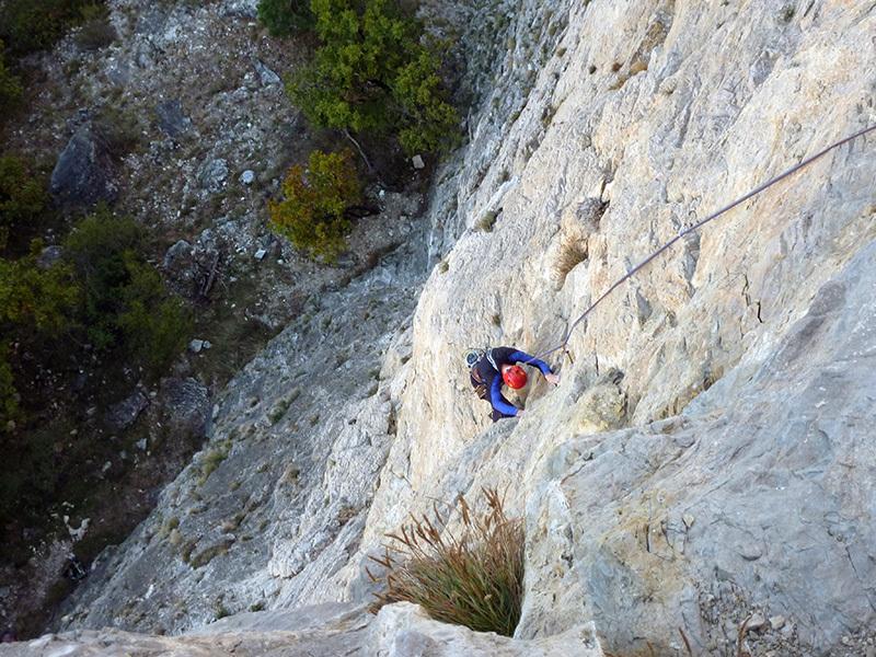 La roccia Del risveglio, archivio Ivo Ferrari