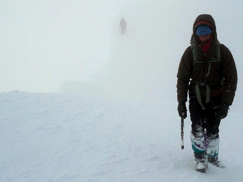Ghost Face, parete Nord Est dello Hubshorn (3192m, Alpi Pennine), archivio Zanoli - Pagnoncelli - Gallian