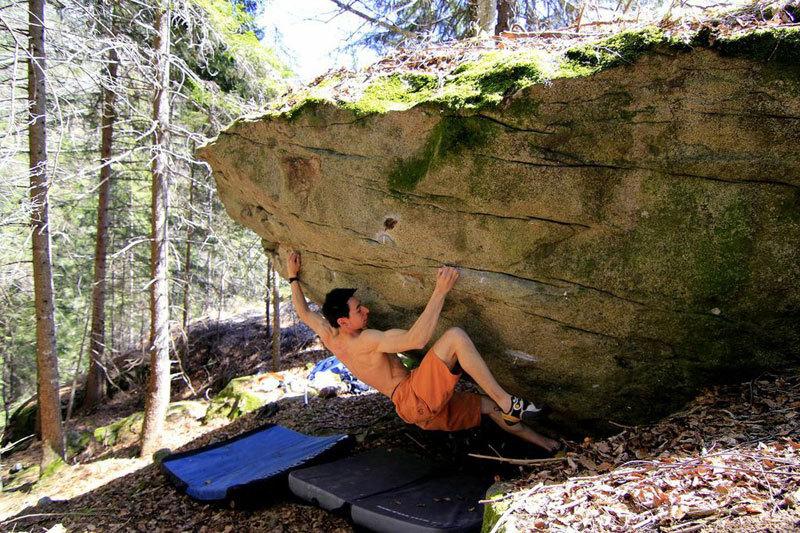 Boulder in Valle di Daone, archivio Angelo Davorio / Stefania Pellizzari
