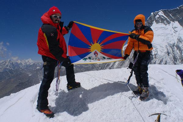 Island Peak, 6.189 metri, aprile 2008, arch. Manuel Lugli