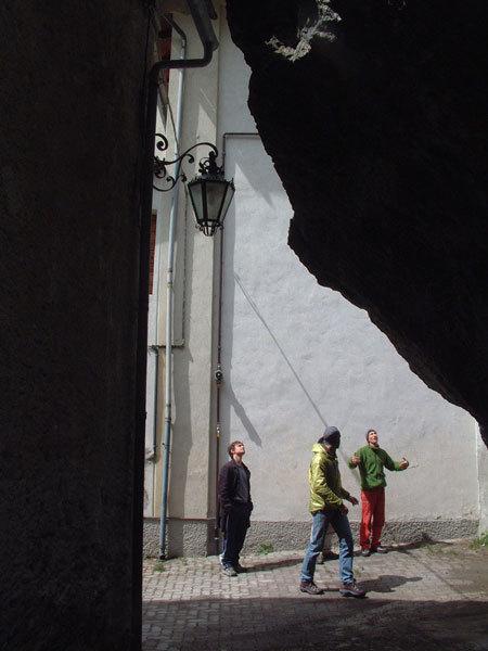 Il blocco di San Martino, Melloblocco