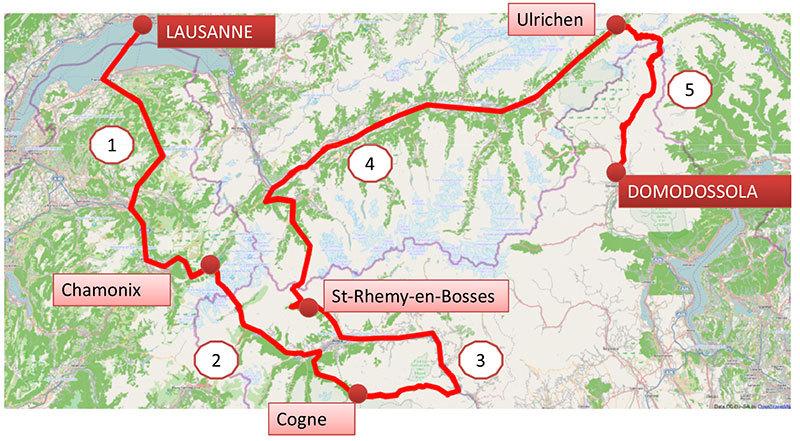 Il 4 luglio 2013 partirà il 7° SuperAlp, il viaggio dedicato dalla Convenzione delle Alpi alla mobilità sostenibile in montagna,