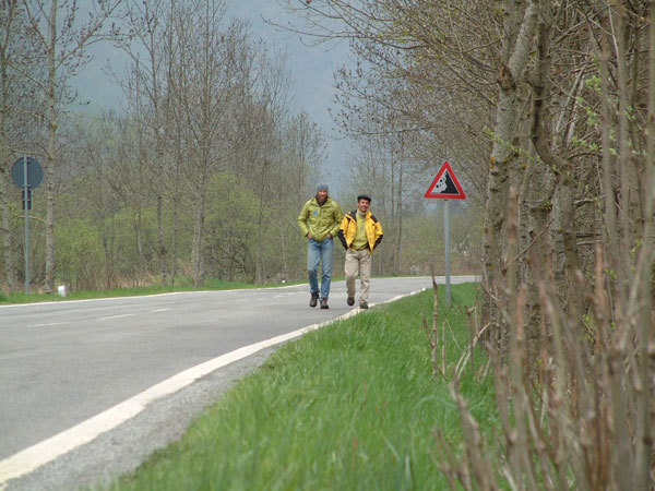 Nicoliò Berzi e Michele Comi on the road, Melloblocco
