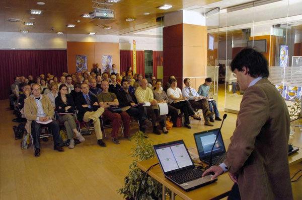 Un momento del convegno, arch. TrentoFilmfestival