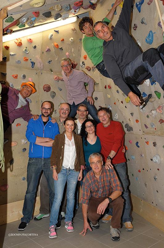 Il team di Cortina InCroda 2013, CortinainCroda