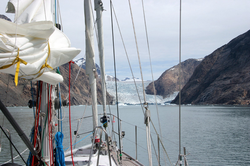Groenlandia: attraversando il prins cristian sund Fjord, Carlo Gabasio