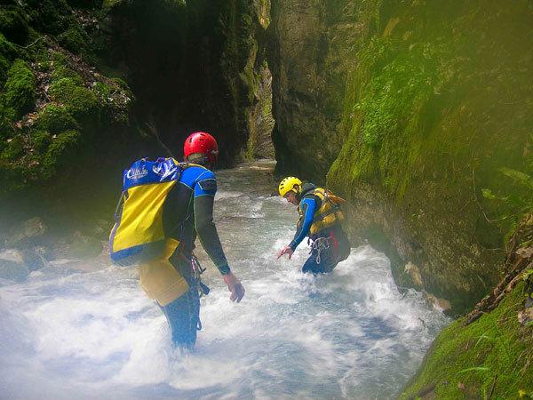 Canyon Mulini di Tenno, G.P. Calzà