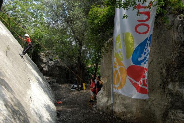Experience Arrampicata alla prima edizione degli OutdoorDays 2008, Dino Panato