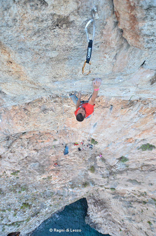 Salento Verticale: new sports climbs in the area between Ponte Ciolo and Santa Maria di Leuca, Ragni di Lecco