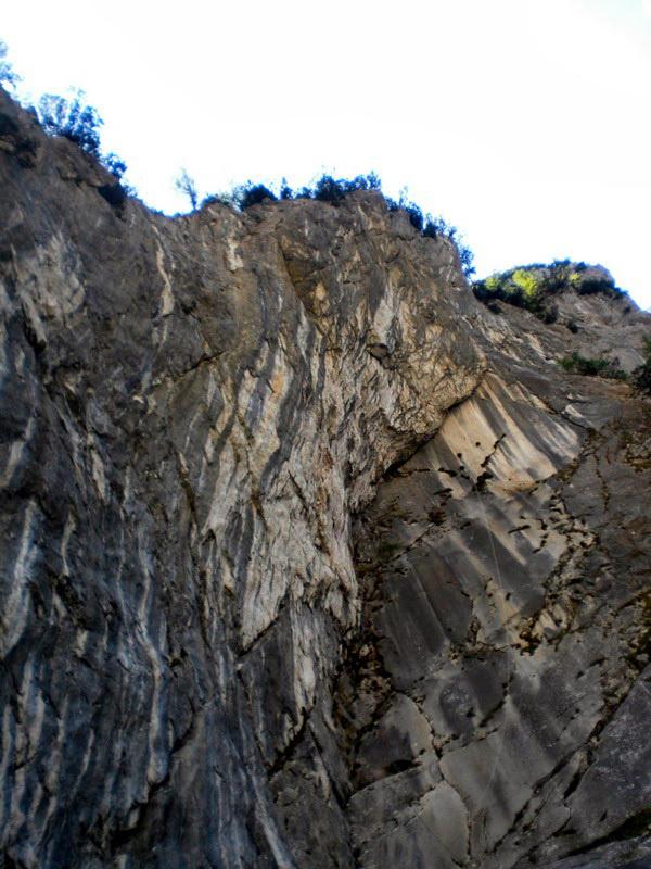 The impressive crag Laboratorio, Laggio di Cadore, archivio Luca Zardini