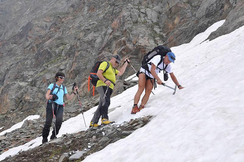 SuperAlp 7, tra il Gran Paradiso e il Mont Avic: verso Lago Miserin con Abele Blanc, Simonetta Radice