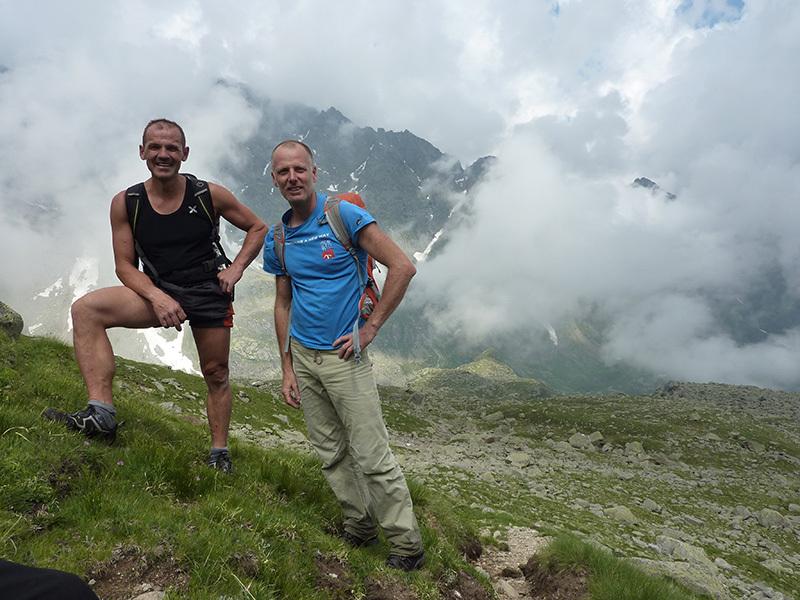 Da sinistra: Dario e Ivo Ferrari, archivio Ivo Ferarri
