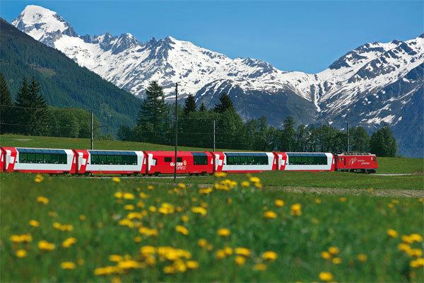 Glacier Express, archivio Simonetta Radice